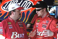 Tony Eury Jr.  and Dale Earnhardt Jr.