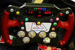 Red Bull Racing and Scuderia Toro Rosso photoshoot: steering wheel of the Toro Rosso