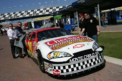 Checkers Chevy car unveiling