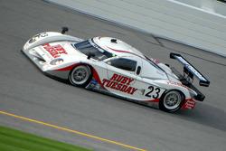 #23 Ruby Tuesday Championship Racing Porsche Crawford: Patrick Long, Jorg Bergmeister, Romain Dumas