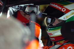 Craig Lowndes is all concentration