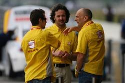 Tiago Monteiro, SEAT Sport, SEAT Leon, Yvan Muller, SEAT Sport, Seat Leon et Gabriele Tarquini, SEAT Sport, SEAT Leon