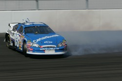 Joe Nemechek spins