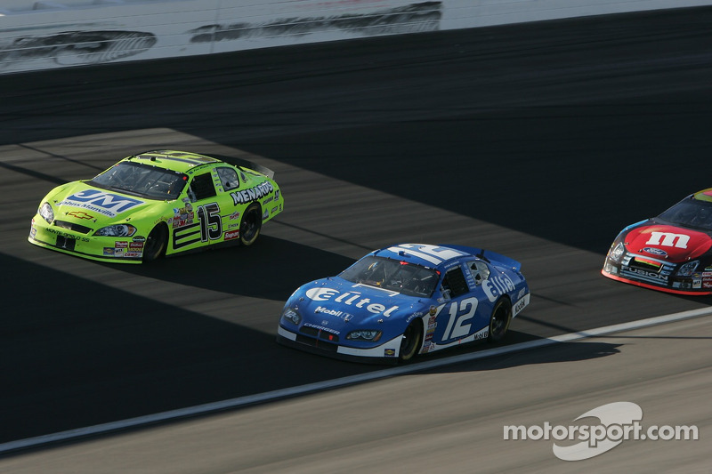 Paul Menard et Ryan Newman