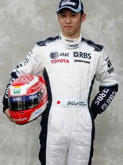Kazuki Nakajima, Test Driver, Williams F1 Team