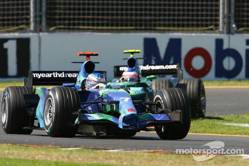 2007 - Honda RA107: 15º lugar no Mundial de Pilotos, com seis pontos