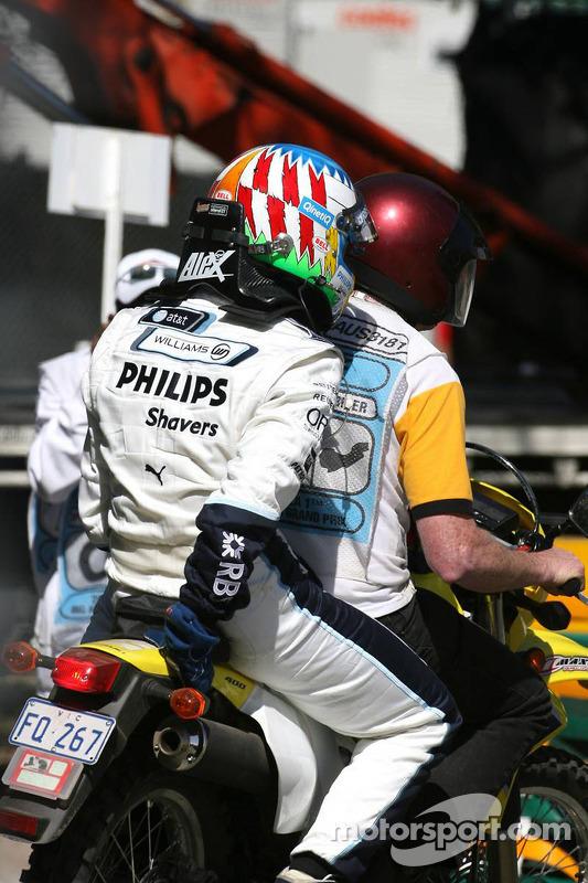 Alexander Wurz, Williams F1 Team