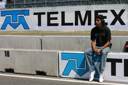 Salvador Duran, pilote de A1 Equipe du Mexique