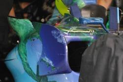 Side Wings of Honda RA107