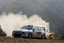 Daniel Carlsson et Denis Giraudet, OMV Kronos Citroen WRT, Citroen Xsara WRC