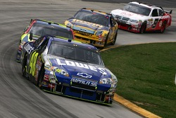 Jimmie Johnson leads the field