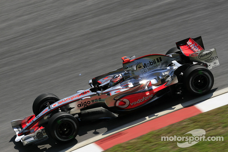 2007: Fernando Alonso, McLaren-Mercedes MP4-22