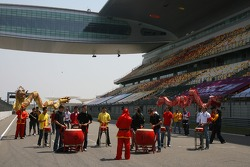 A1GP drivers at the circuit