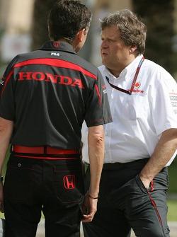 Nick Fry et Norbert Haug