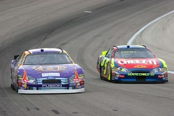 Jamie McMurray and Kyle Busch