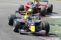 Sebastian Vettel, Carlin Motorsport leads yesterdays winner Michael Aleshin, Carlin Motorsport