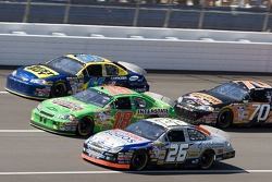 Jamie McMurray, J.J. Yeley and Jeff Green