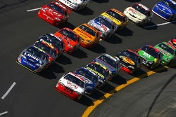 Kasey Kahne and Jimmie Johnson lead the field