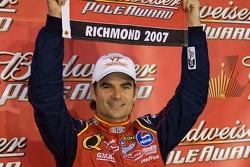 Pole winner Jeff Gordon