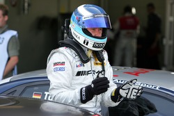 Pole position for Mika Hakkinen, Team HWA AMG Mercedes
