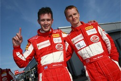 GT2 pole winners Tim Mullen and Andrew Kirkaldy