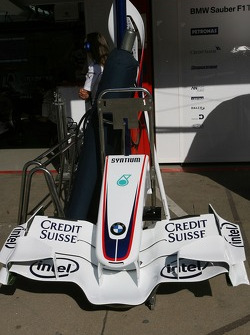 BMW Sauber F1 Team, New front wing