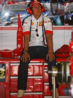 Michael Schumacher, Scuderia Ferrari, Advisor