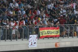 Fans crowd