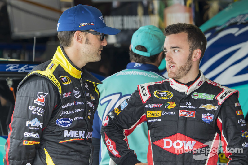 Paul Menard and Austin Dillon