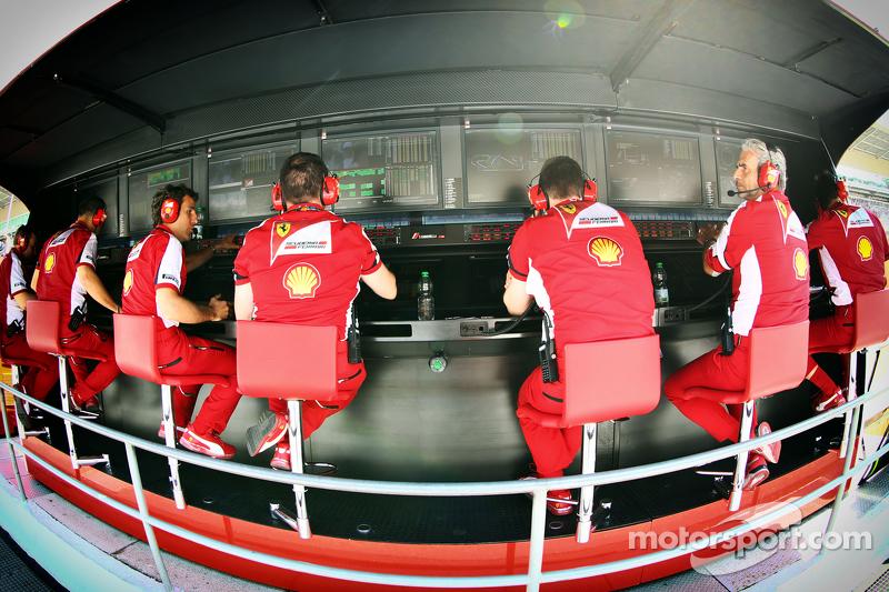 Ferrari, Kommandostand