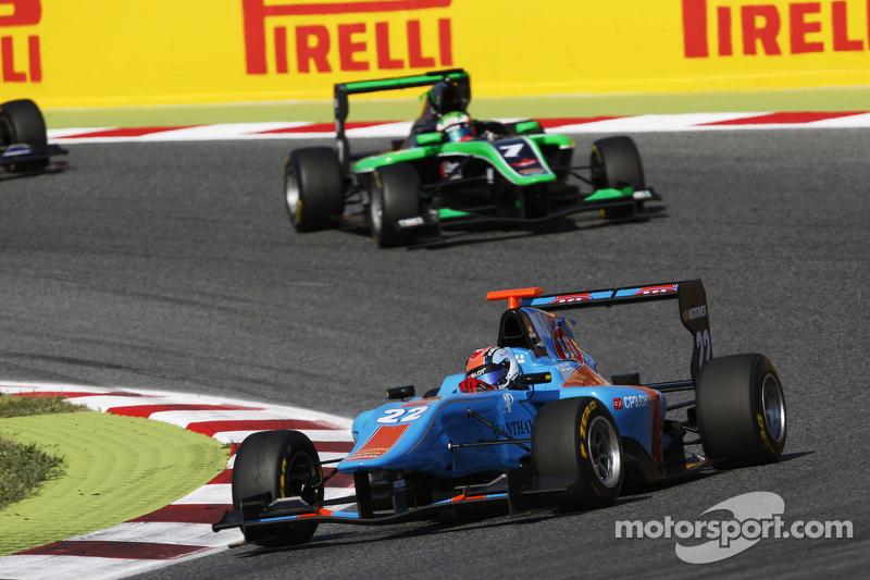 Ralph Boschung, Jenzer Motorsport leads Seb Morris, Status Grand Prix