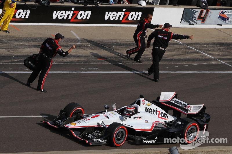 1. Will Power, Team Penske, Chevrolet