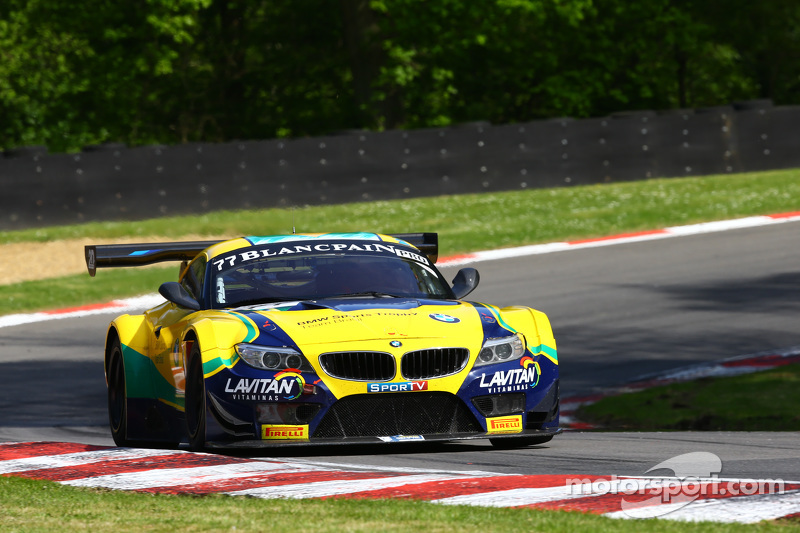 #77 BMW Sports Trophy Team Brasil, BMW Z4: Atila Abreu, Valdeno Brito