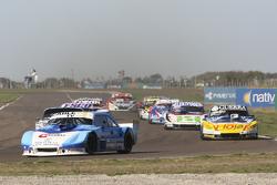 Federico Alonso, Taco Competicion Torino;和 Luis Jose di Palma, Indecar Racing Torino;和Mathias Nolesi, Nolesi Competicion 福特