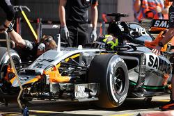 Nick Yelloly, Sahara Force India F1 VJM08, Testfahrer