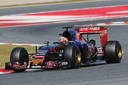 Pierre Gasly, Scuderia Toro Rosso STR10 testrijder