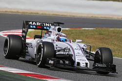 Alex Lynn, Williams FW37 Piloto de desarrollo