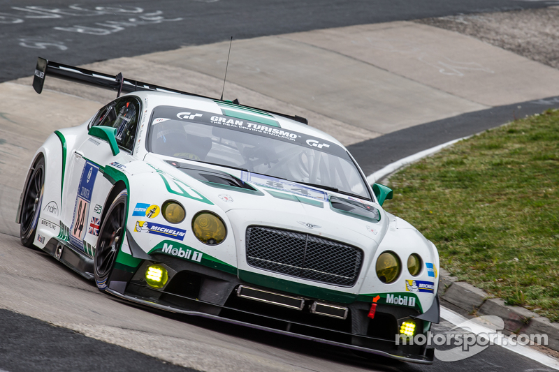 #84 Bentley Team Bentley Continental GT3: Йерун Блекемолен, Lance David Arnold, Christian Menzel, Ch