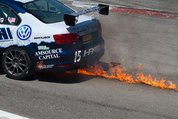 # 15 إتش بي إيه موتورسبورتس فولكسفاغن جيتا جي إل1: جيف ألتينبرغ في مشكلة