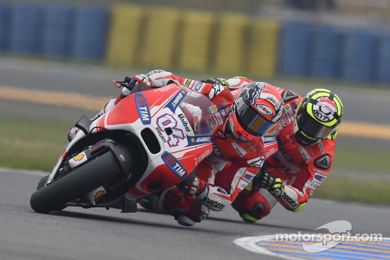 Adrea Dovizioso e Andrea Iannone, Ducati Team