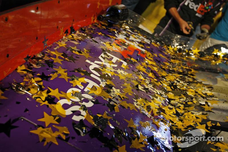 Detail von Joe Gibbs Racing, Toyota, in frt Victory-Lane