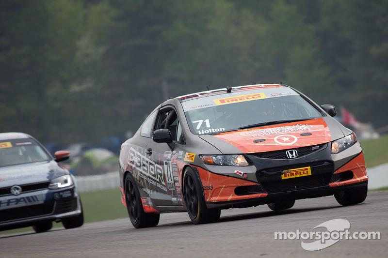 #71 Compass360 Racing, Honda Civic Si: Paul Holton