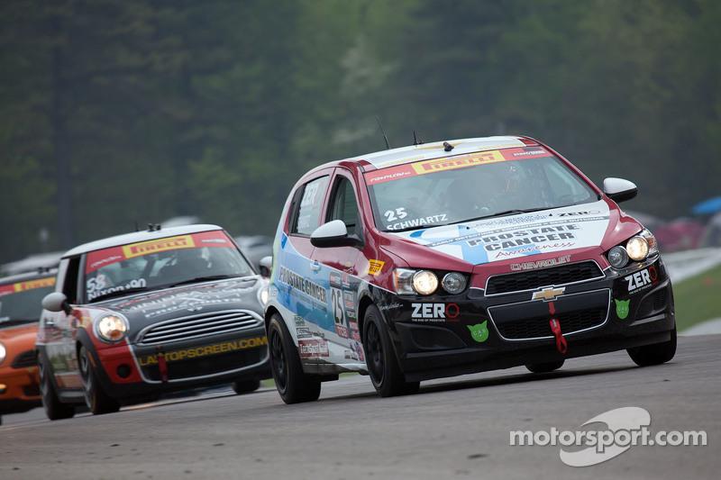 #25 Tech Sport Racing Chevrolet Sonic: Johan Schwartz