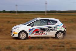 Кристиан Сольберг и Сергей Тамбовцев, Peugeot Team Russia, Peugeot 208 R2