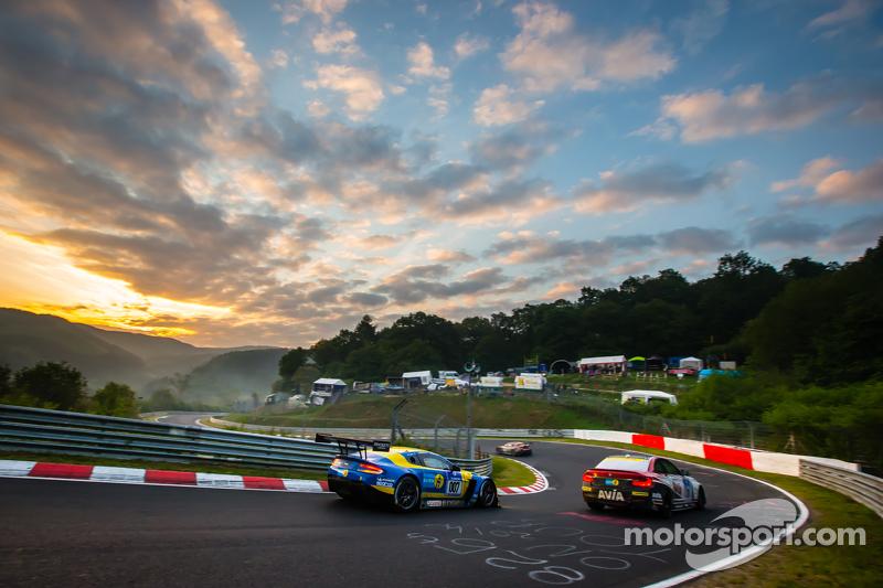 #7 Aston Martin Racing, Aston Martin Vantage GT3: Stefan Mücke, Darren Turner, Pedro Lamy, Richie St