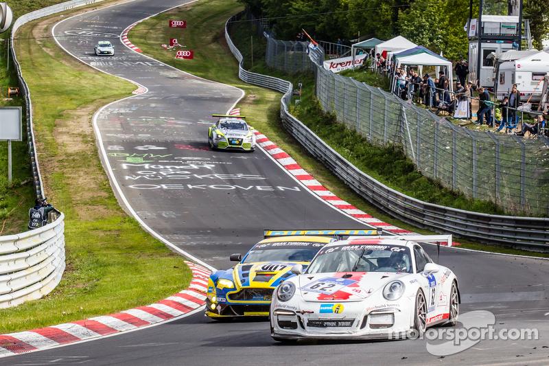 #62 GDL Racing, Porsche 911 GT3 Cup: Paul Stubber, Vic Rice, Nicola Bravetti, Holger-Peter Fuchs und
