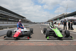 2. Jack Harvey, Schmidt Peterson Motorsports, und  Pole-Sitter Ethan Ringel, Schmidt Peterson Motorsports