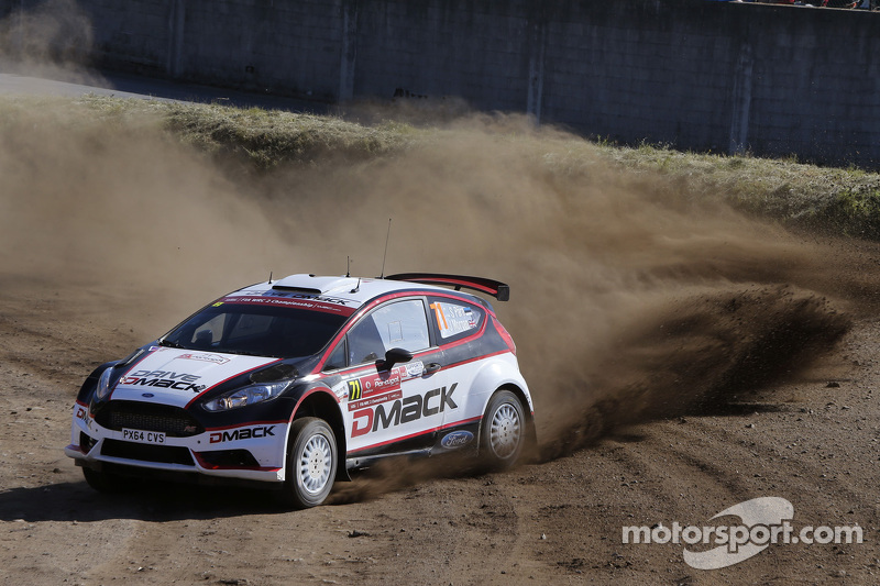 Sander Parn and James Morgan, Ford Fiesta R6
