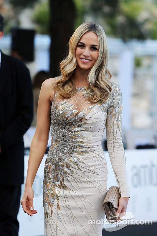 Carmen Jorda, Lotus F1 Team Pilota collaudatrice all'Amber Lounge Fashion Show
