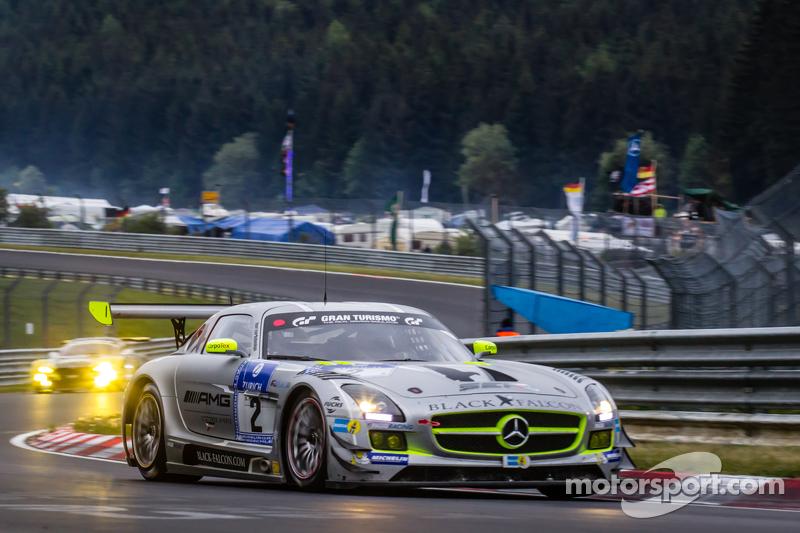 #2 Black Falcon, Mercedes-Benz SLS AMG GT3: Yelmer Buurman, Andreas Simonsen, Adam Christodoulou, Be